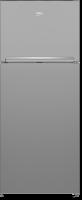 Beko refrigerator - 18 feet - silver color