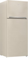 Beko refrigerator - 18 feet - beige color