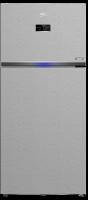 Beko refrigerator - 26 feet - silver color