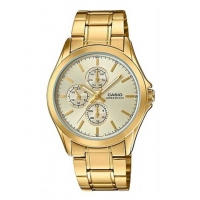 CASIO CHRONOGRAPH GOLD STAINLESS STEEL MEN'S WATCH