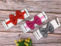 Turkish girls' bond in the form of a bow from the age of a newborn to a year