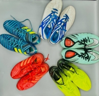 Used sports shoes assortment \ 10 pieces