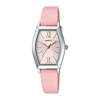 Casio Women's Analog Light Pink Dial Watch