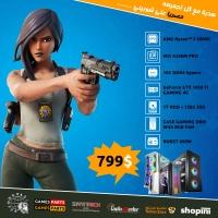 Gaming PC AMD Ryzen 5 2600X -16G RAM-128GSSD- GeForce GTX 1050 Ti GAMING 4G