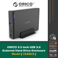 ORICO 3.5 INCH SATA USB 3.0 HARD DRIVE ENCLOSURE 7688U3