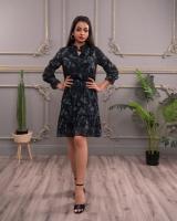 Women's dress with a distinctive design