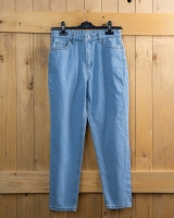 Mom jeans with a distinctive design