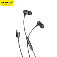 Awei TC-6 TYPE-C earphones Hi-Res Earphone USB TYPE Cfor all type-c phone