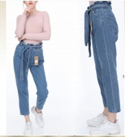Women's Wide Jeans TrousersTurkish