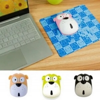 Cute Dog Wireless Mouse 2.4G