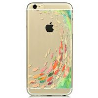 Cover For iPhone 6plus Silicon transparent fish