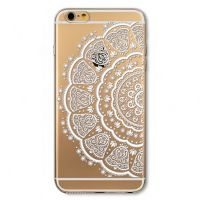 Cover  For iPhone 6pluse transparent silicone Deer
