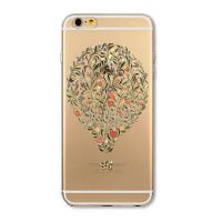 Cover For iPhone 6plus S transparent silicone Beautiful shape