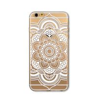 Cover For iPhone 6 transparent silicone Engraved large
