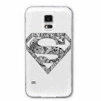 Cover galaxy S5 transparent Superman