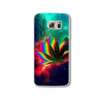 Cover galaxy 6 Edge plastic Rainbow Senior