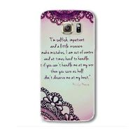Cover Samsung Note 4plastic  An English writing