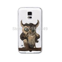 Cover Samsung Note4 plastic transparent Owl wonderful