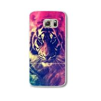 Cover Samsung Note 4 plastic tiger