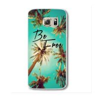 Cover Samsung Note 4 plastic palm trees