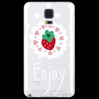 Cover Samsung Galaxy S5 transparent Strawberries
