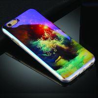 Cover iPhone 6/6S Plastic Rubber Distinctive scene