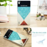 Cover Huawei Ascend P7 plastic The Da Vinci Code
