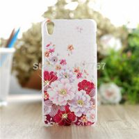 Cover Lenovo Case S850 Plastic flowers