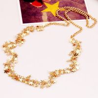 Flowergirl Beautiful stars necklace - gold / silver plated