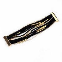Suede leather bracelet - beautiful design