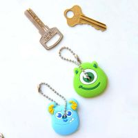 Cute Anime Cartoon Key Cover - Blue Monster