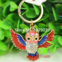 Red Owl keychain