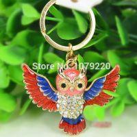 Red Owl keychain