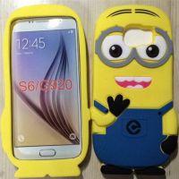 Cover Galaxy S6 Plastic Rubber minions