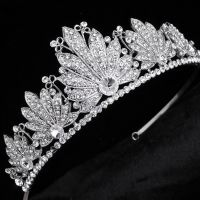 Wedding studded stone rhinestone Crown