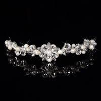 Crown crystal and pearl Elegant Bride