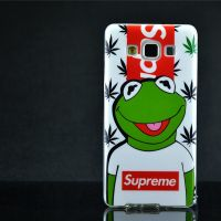 Cover Galaxy A5 Plastic Rubber Whole frog nice
