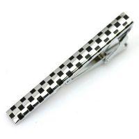 Tie clip - a chess squares - Elegant design