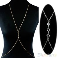 Body thin belly and waist chain