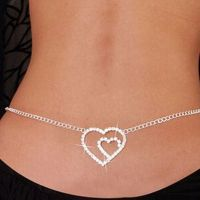 Belly chain exciting - Crystal mosaic - the heart