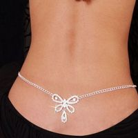 Belly chain exciting - Crystal mosaic - Butterfly