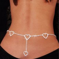 Belly chain exciting - Crystal mosaic - Hearts