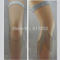 Body jewelry - chains leg