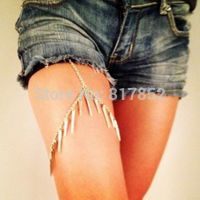 Jewelry body - leg chains nails