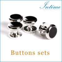 Elegant metal buttons for men - Four pieces