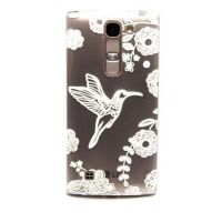 Cover LG 4G transparent plastic birds