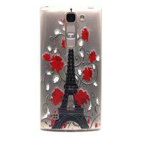 Cover LG 4G transparent plastic Eiffel Tower