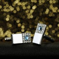 Cufflinks for men - silver plated