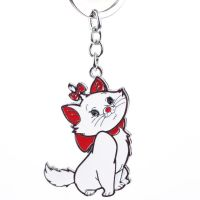 Keychain - Kitty - from Alloy Enamel