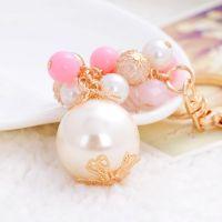 Keychain pearl beads